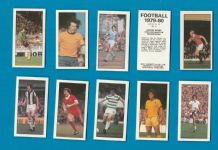 TRADE cards Football 1979-80 set.Manchester United ,Chelsea,Arsenal